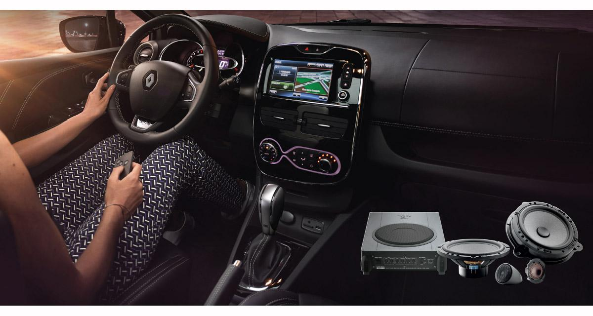 Focal Inside : une gamme complète de systèmes hi-fi pour les Renault et Dacia