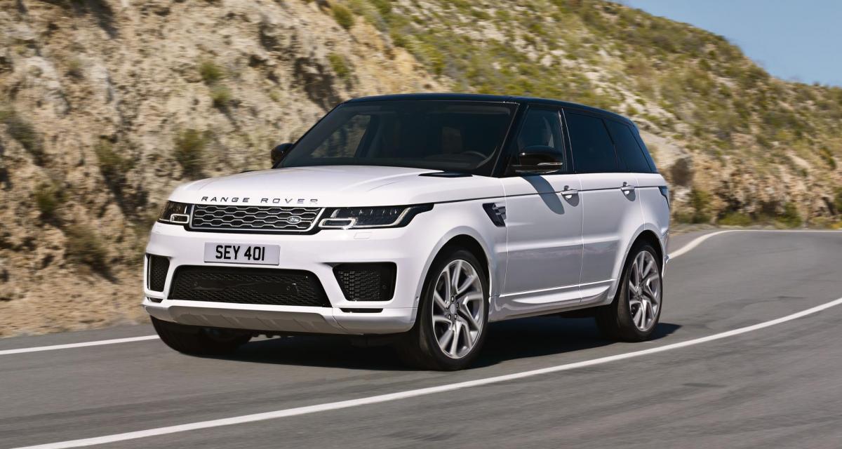 Range Rover Sport : un restylage qui apporte l'hybride rechargeable