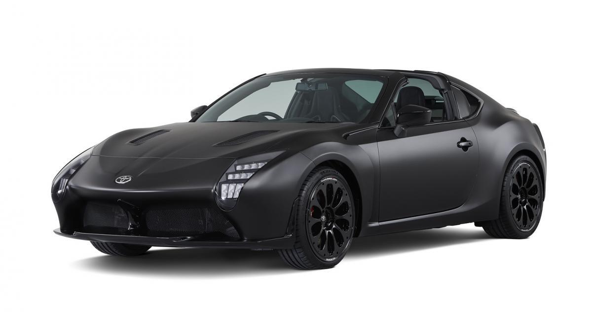 Toyota GR HV Sports Concept : la GT86 hybride aux airs de LMP1
