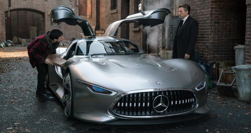 Batman roulera à bord de la Mercedes-AMG Vision GT dans le film Justice League