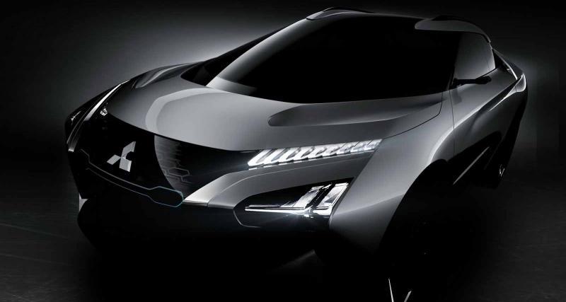 Mitsubishi e-Evolution Concept : look impressionnant en vue
