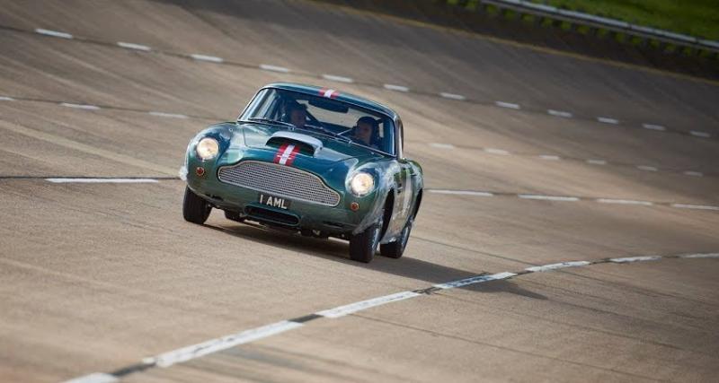 Le remake de l'Aston Martin DB4 GT roule bel et bien