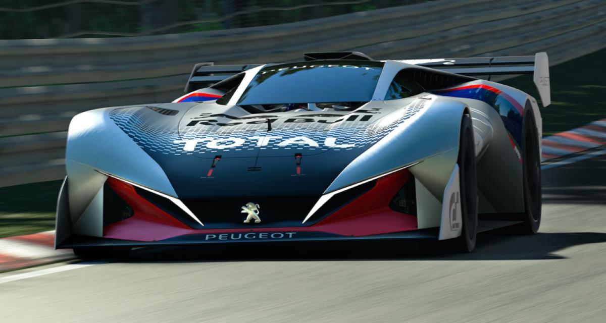 Peugeot L750 R HYbrid Vision Gran Turismo : une lionne débridée pour Gran Turismo Sport