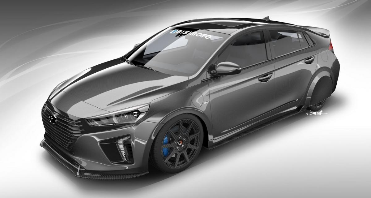 Hyundai HyperEconiq : la Ioniq hybride se met au tuning pour le SEMA Show