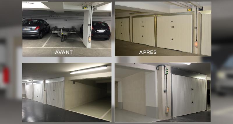 Comment transformer sa place de parking en box fermé?