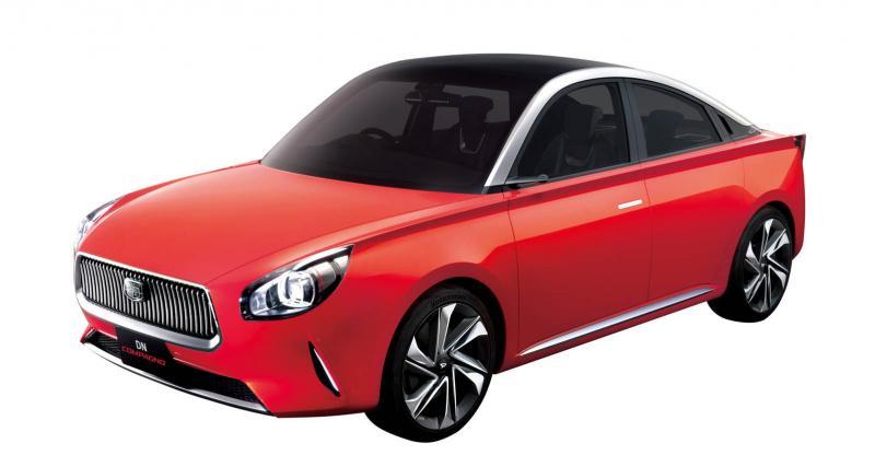 Daihatsu DN Compagno : le concept qui ressemble à une voiture de dessin animé