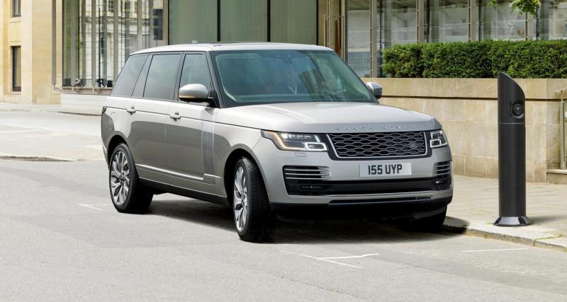 Le Range Rover passe lui aussi à l'hybride rechargeable
