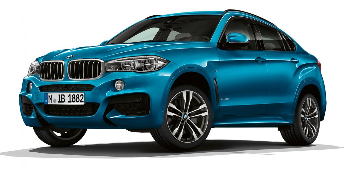 les bmw x5 et x6 s 39 offrent des ditions sp ciales. Black Bedroom Furniture Sets. Home Design Ideas