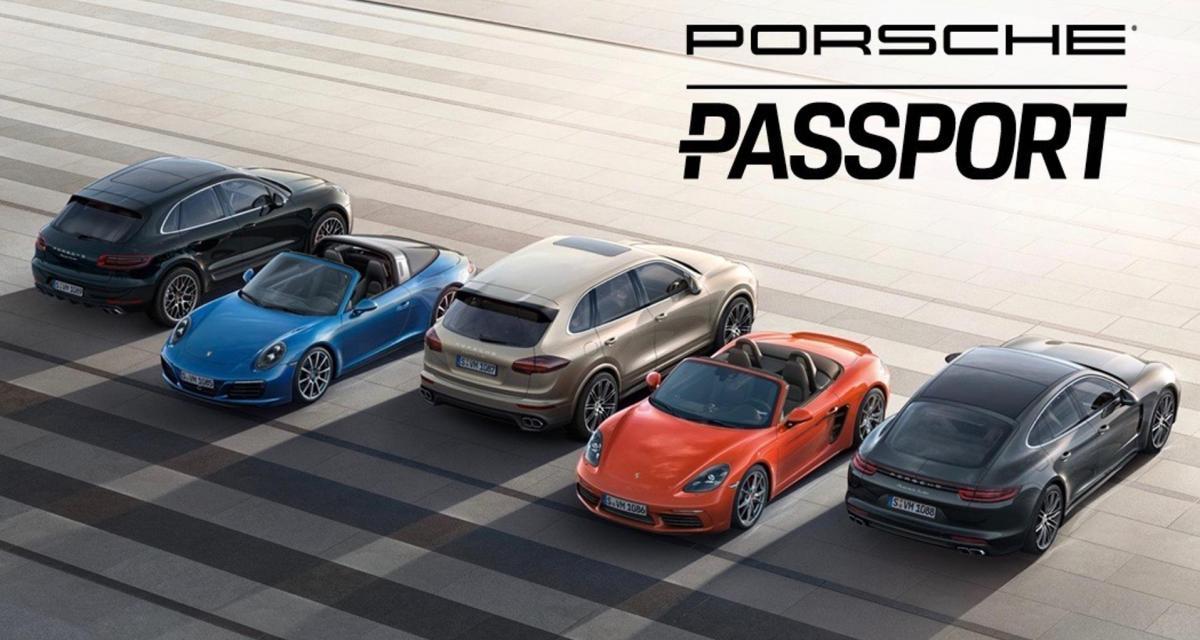 Porsche Passport : un accès sans limite à 22 modèles Porsche pour 3 000 dollars par mois
