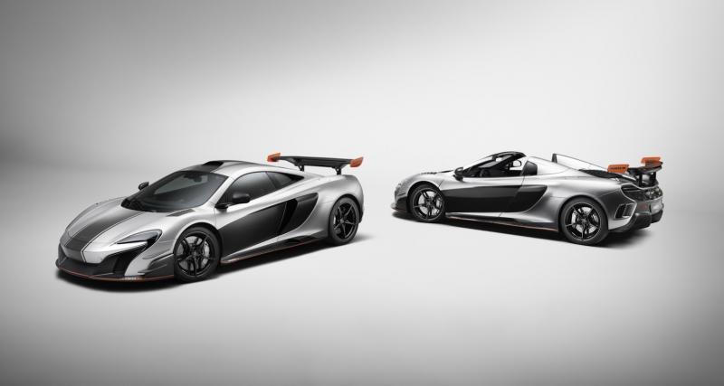 McLaren MSO R Coupé et Spider : la 650S fait ses adieux avec panache
