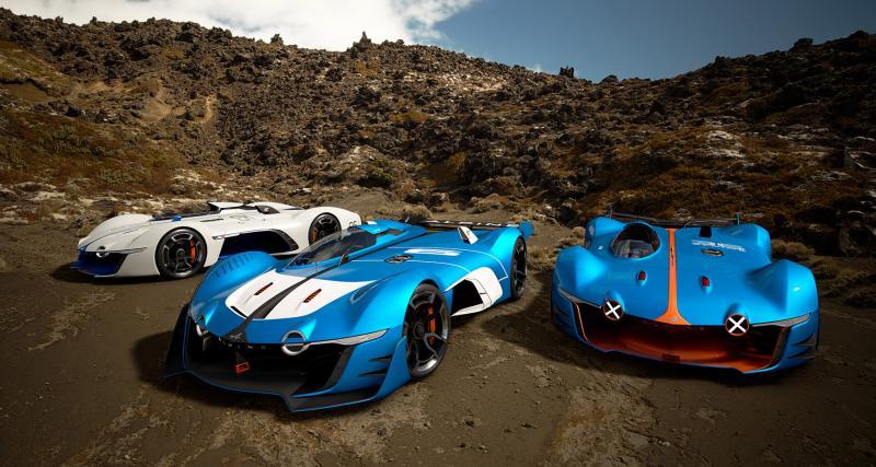 Alpine Vision Gran Turismo : acte II