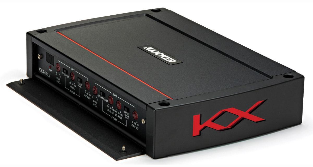 Kicker commercialise une nouvelle gamme d'amplificateurs numériques en Europe