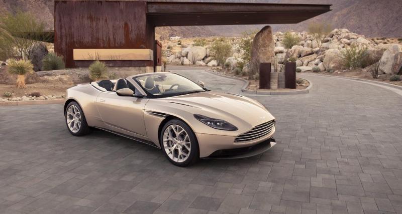 L'Aston Martin DB11 Volante débute avec un V8