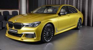 Une BMW M760Li déguisée en M3 à vendre à Abu Dhabi