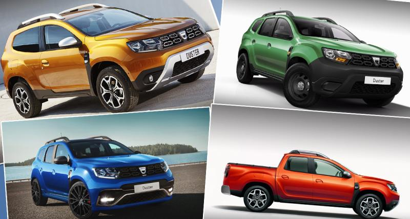 A quoi ressemblerait le nouveau Duster en version pickup, GT ou 3 portes?