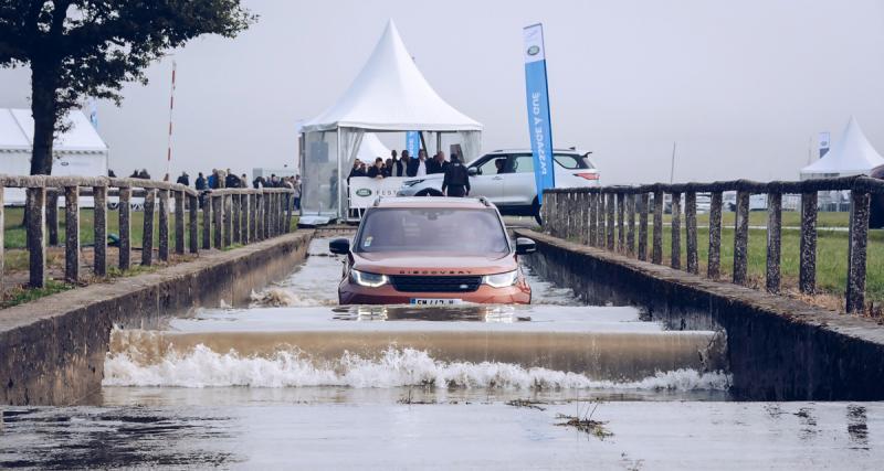 Succès total pour le Jaguar Land Rover Festival à Monthléry