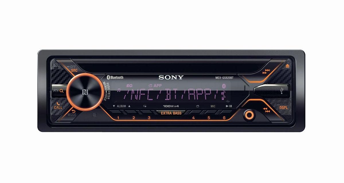 Sony commercialise un nouvel autoradio laser avec amplification Classe D et connectivité Smartphone