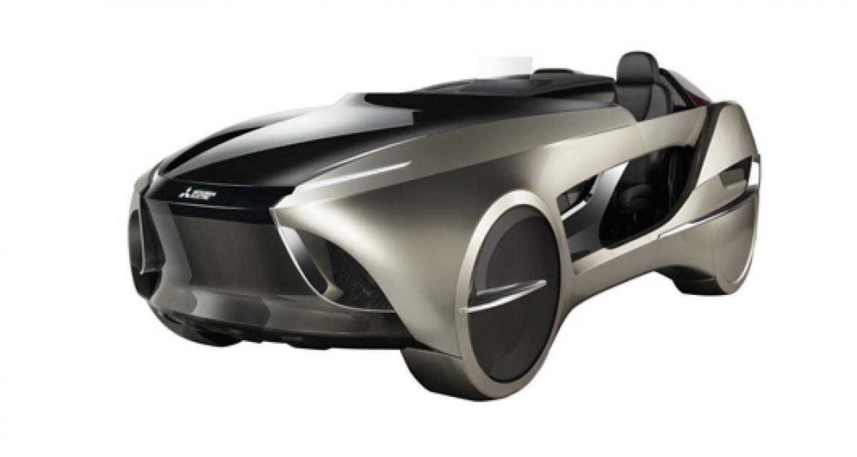 Mitsubishi Electric EMIRAI 4 : le roadster qui n'en est pas vraiment un
