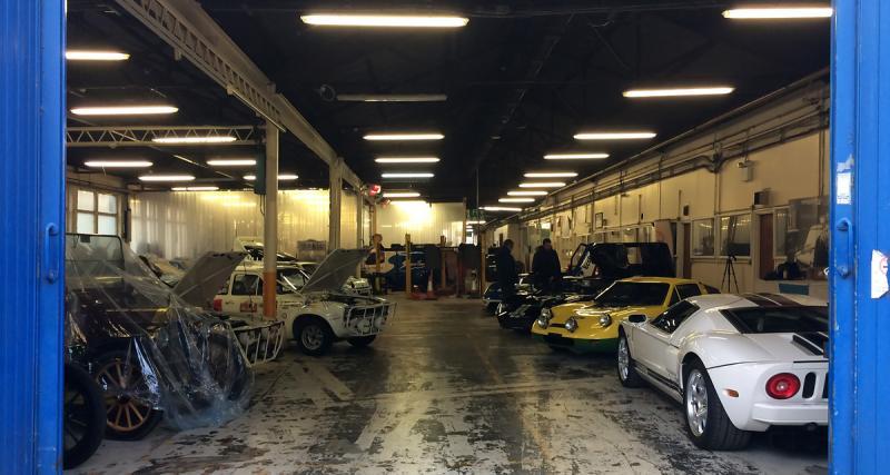 Ford Heritage Collection: à la découverte de 125 modèles nichés dans un hangar