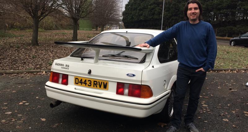 Ford Sierra RS Cosworth: esprit de rallye