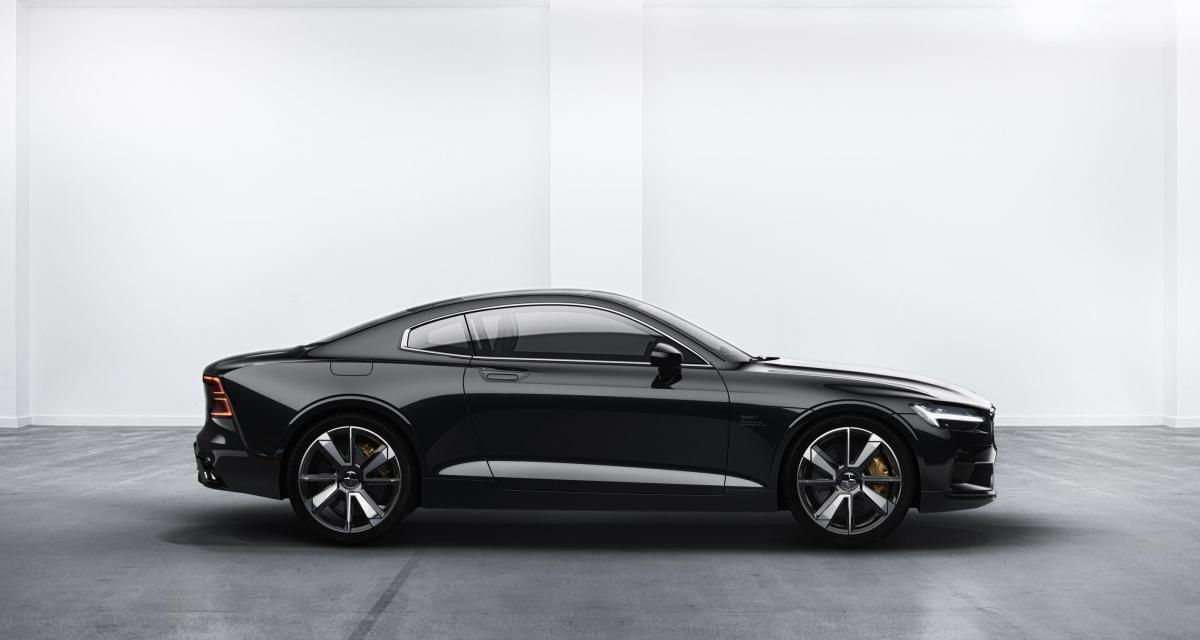 Polestar 1 : la sportive hybride de 600 ch aux 150 km d'autonomie électrique
