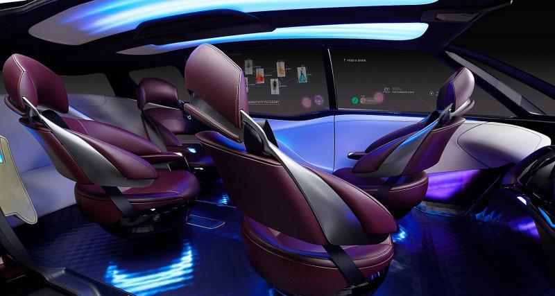Toyota Fine-Comfort Ride Concept: à hydrogène et autonome