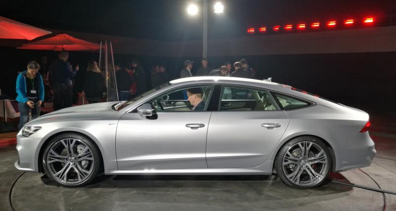 Audi A7 Sportback : le meilleur est à l'intérieur