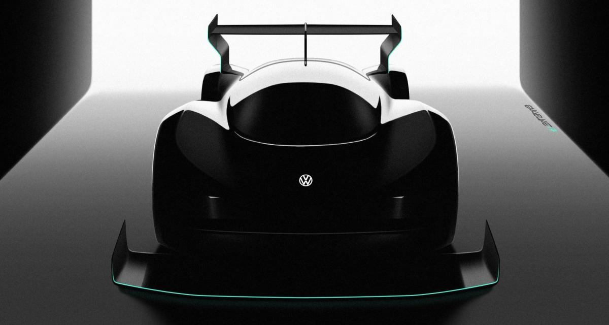 Un prototype Volkswagen 100% électrique à la montée de Pikes Peak 2018