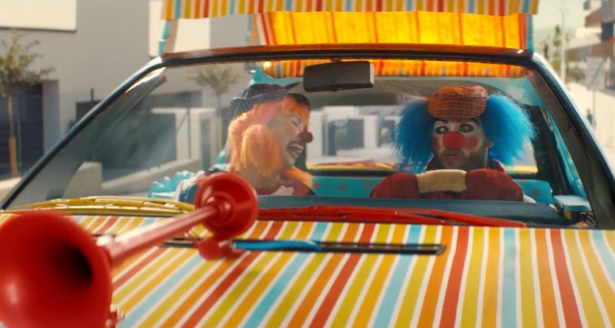 La technologie Audi, ce n'est pas pour les clowns !