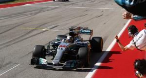 F1 - Etats-Unis : Hamilton vainqueur, Mercedes champion