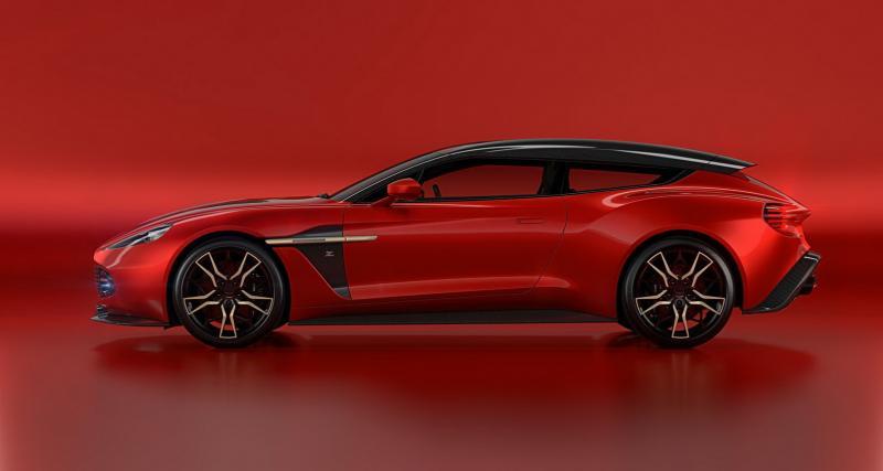 Aston Martin Vanquish Zagato Shooting Brake : faussement pratique mais très charismatique