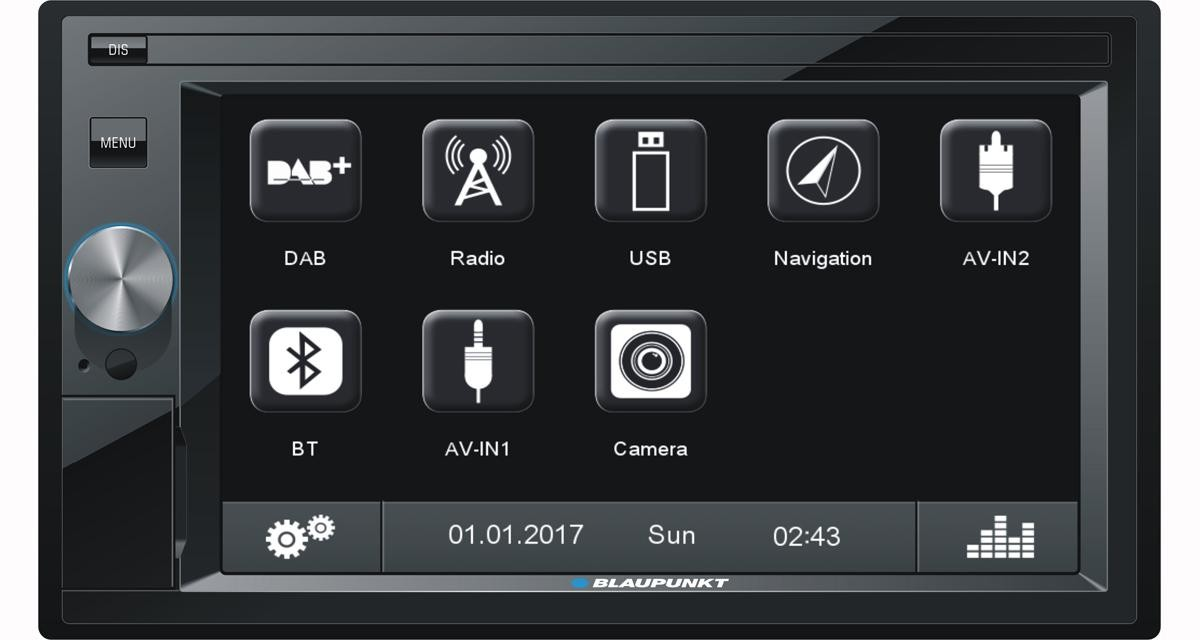 Blaupunkt commercialise un autoradio GPS dédié aux sources nomades