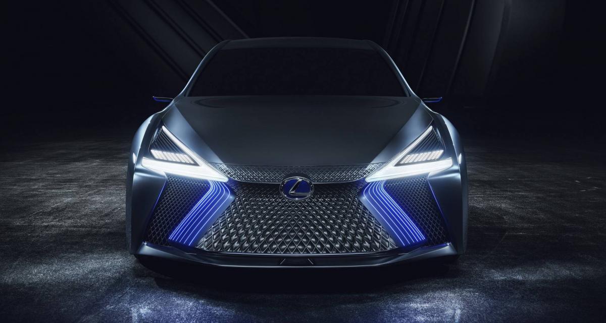 Lexus LS+ Concept : gueule de LFA, sacrée IA