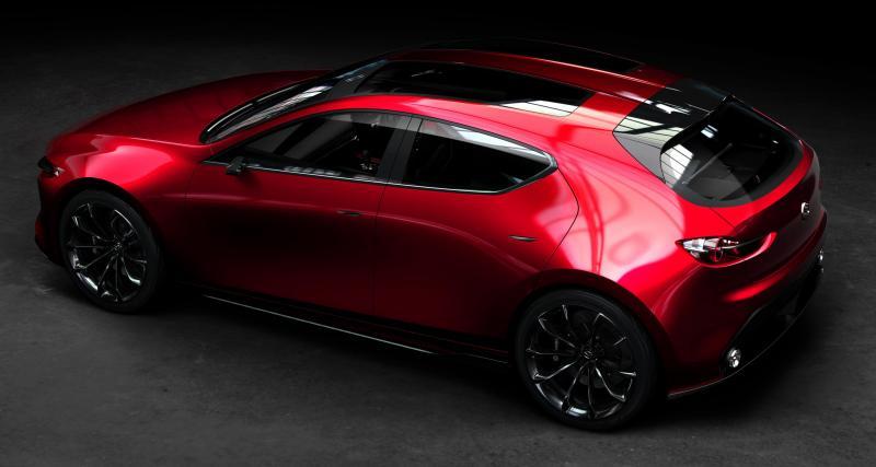 Un avant-goût de la future Mazda 3 — Mazda Kai Concept