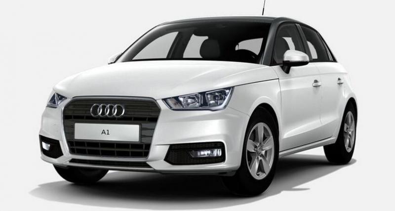 L'Audi A1 en ce moment à partir de 230 euros par mois et sans apport