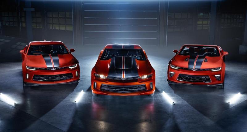 La Chevrolet Camaro Hot Wheels Edition fait son retour