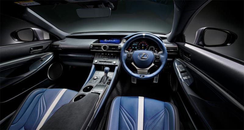 Lexus GS F et RC F: pour les 10 ans de sa griffe sportive
