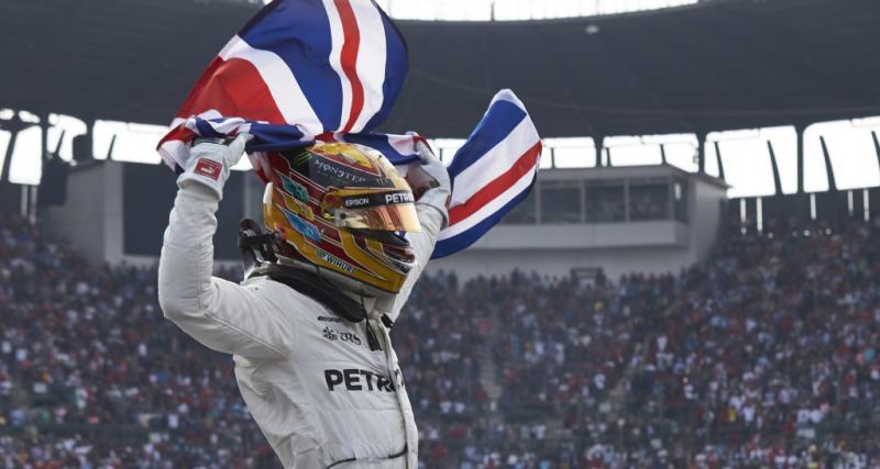 Et de quatre pour Lewis Hamilton