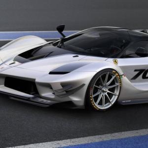 Ferrari FXX-K Evo : vers l'infini et au-delà