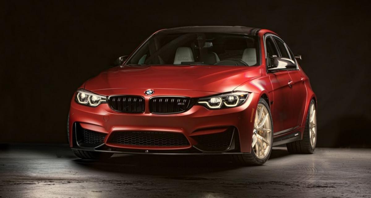 BMW M3 30 Years American Edition : la M3 qui se prend pour une M4 GTS