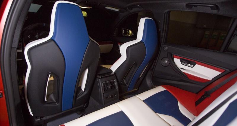 Bleu-blanc-rouge à l'intérieur