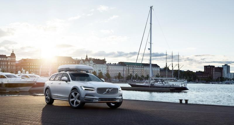 Volvo V90 Cross Country Ocean Race : pour mettre la pollution au tapis