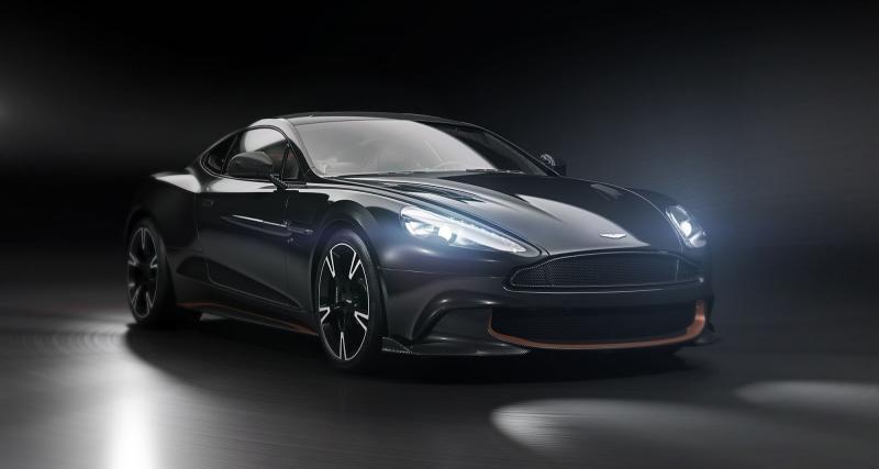 Aston Martin Vanquish S Ultimate Edition : la der des ders