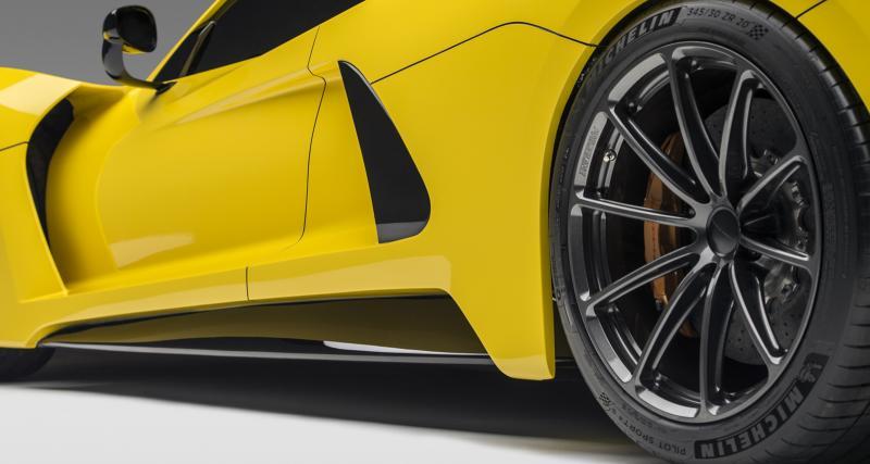 Michelin choisi pour chausser la Venom F5