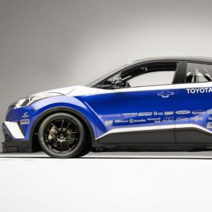 Le Toyota C-HR se transforme en voiture de course pour le SEMA Show