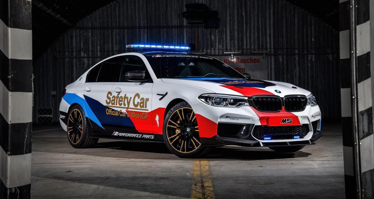 La nouvelle BMW M5 devient la voiture de sécurité du MotoGP