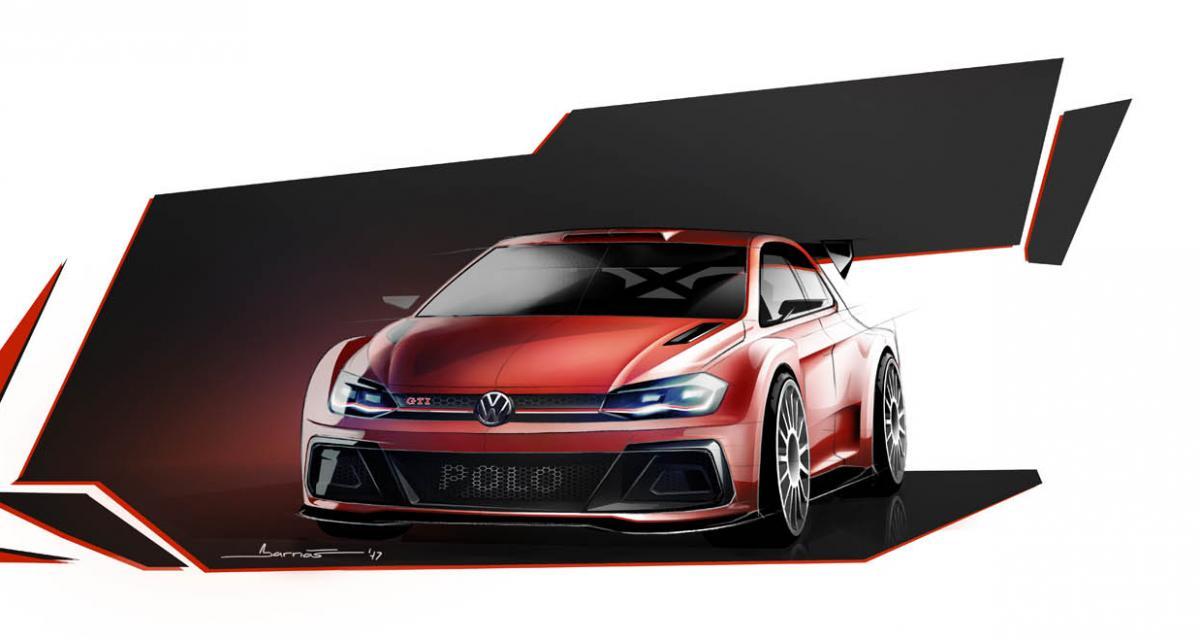 la nouvelle polo gti marquera le retour de volkswagen en rallye. Black Bedroom Furniture Sets. Home Design Ideas