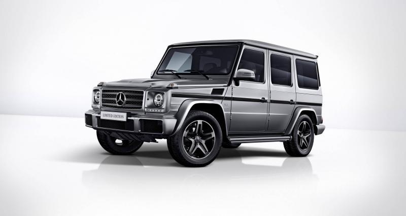 Mercedes Classe G Limited Edition : les versions civiles aussi ont droit à leurs adieux