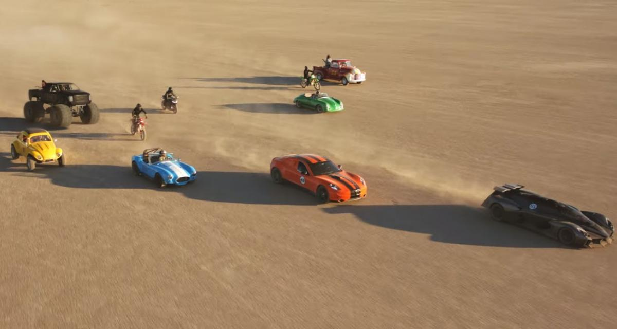 Mad Max revisité avec des voitures électriques
