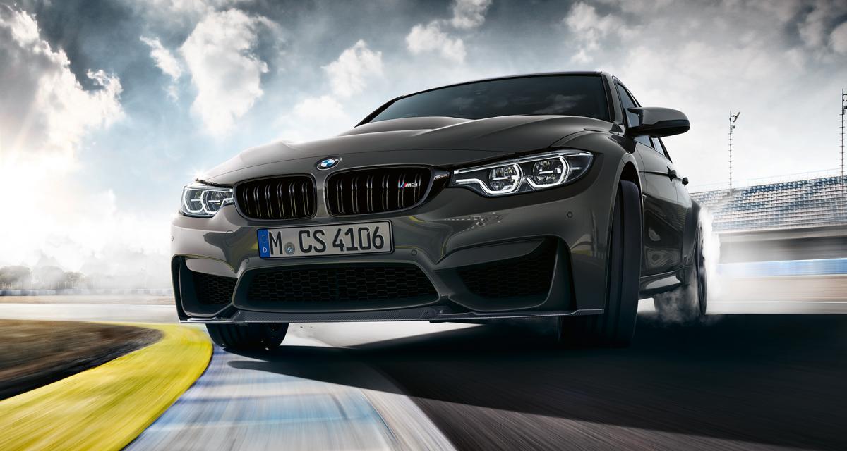 BMW M3 CS: un demi-cran au dessus du Pack Compétition